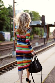 Mexican blanket dress (only see through and sexy) Mexican Fashion, Mexican Outfit, Mexican Style, Bright Dress, Estilo Retro, Style Me, Style Blog, Girl Style, Dress To Impress