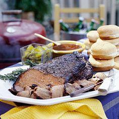 Smoky Barbecue Recipes | Smoked Brisket | SouthernLiving.com