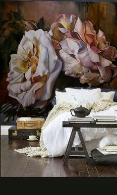 Michelle - Blog #Flowers on the #walls Fonte : http://www.dianawatson.com.au/