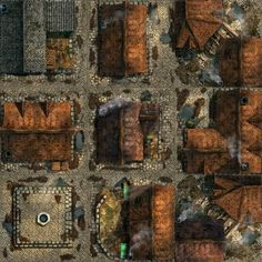 My city art, 9 areas. Fantasy City Map, Fantasy World Map, Dungeon Tiles, Dungeon Maps, Dnd World Map, Pathfinder Maps, Village Map, Building Map, Rpg Map