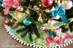 Christmas Tree Skirt (non-traditional pattern)