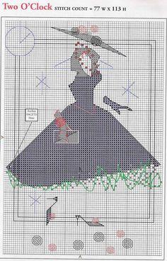 Patrones punto de cruz en pdf (pág. 1804) | Aprender manualidades es facilisimo.com