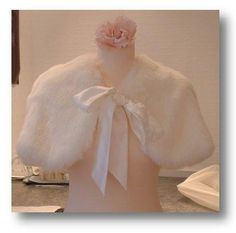 Faux Fur Cape to keep off the chill... by Arynvere Bride $170
