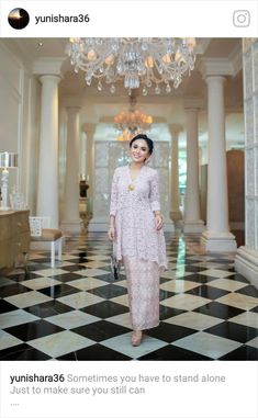 Dress brokat longgar 47 ideas for 2019 Source by kaliegunillajamieex brokat Kebaya Lace, Kebaya Dress, Batik Kebaya, Kebaya Hijab, Vestido Batik, Batik Dress, Kebaya Modern Dress, Model Kebaya Modern Muslim, Model Kebaya Brokat Modern