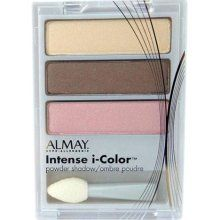 Almay Eyeshadow--I have this trio--Intense i-color for hazel eyes-413--Mine is the newer version that looks like an eyelid but has the same colors as shown here.  Used gently.