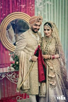 Sabyasachi adorned wedding