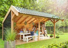 Voor onze ontspannings uurtjes in de tuin, houtkachel, wijntje erbij .... Do I say more?