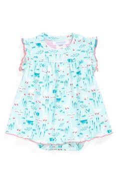 jaxxwear+Ruffle+Sleeve+Pima+Cotton+Dress+(Baby+Girls)+available+at+#Nordstrom