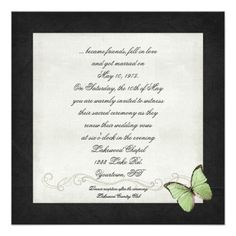 Wedding Vow Renewal Invitations Wording Samples Christopher Brandi S 10 Yr Pinterest Renewals
