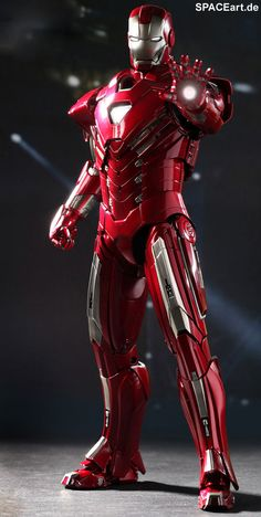 Iron Man 3: Silver Centurion Mark 33 - Deluxe Figur, Fertig-Modell ... http://spaceart.de/produkte/irm021.php