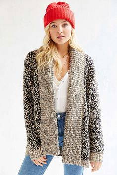 Ecote Curl Up Cardigan - Urban Outfitters