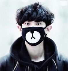 EXO Black Chanyeol Mask – Totemo Kawaii Shop