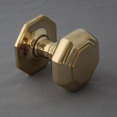 Placed in the centre of the front door to pull and push, this style of centre door knob was very popular in the Georgian period and continued to be popular right through into the Century. Reproduced from a Georgian original. Door Knockers, Door Knobs, Door Furniture, Door Pulls, Polished Brass, Curtain Rods, Georgian, Hardware, Doors