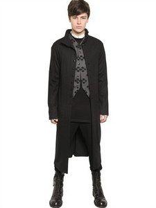 Ann Demeulemeester - Wool Jersey Long Cardigan | FashionJug.com