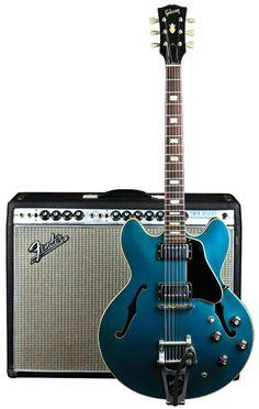 Vintage Vault: 1967 Gibson ES-335TD Pelham Blue   Premier Guitar