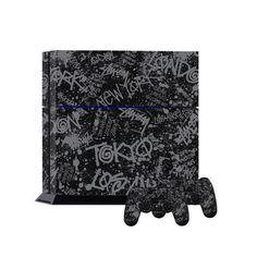 STICKERBOMB Skin Sticker For PS4 Playstation 4 Console & 2 Controller Skins for Playstation 4 Game Console Stickers Skin