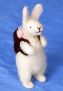 so cute!  great with the story Peter Rabbit!