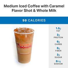 The Healthiest Ways To Order At Dunkin Donuts Myfitnesspal Dukin Donutsdunkin Recipehealthy Starbucks