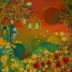 On the other side – pictura pe panza #art, #Painiting, #Creative