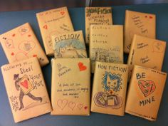 Some libraries are hiding covers and letting you take a book out for a blind date!