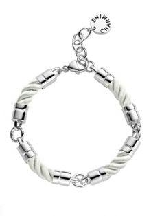 Charming by Ti Sento silver/leather bracelet