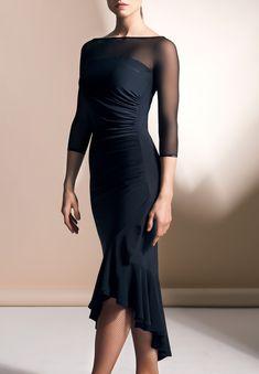 Chrisanne Clover Flare Latin Dress-Black Great for Social Ballroom Dancing. Latin Ballroom Dresses, Ballroom Dancing, Latin Dresses, Swing Dancing, Foto Fashion, Dance Fashion, Gothic Fashion, Ballroom Costumes, Dance Costumes