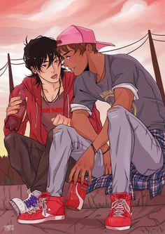 Klance art beautiful hot keith modern voltron