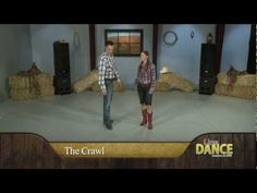 Line Dance - Watermelon Crawl Country Line Dance Instruction - YouTube