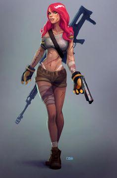Z Huntress by Corey Smith | Pinup | 2D | CGSociety
