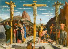 Andrea Mantegna, La Crucifixion, dite Le Calvaire