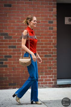 Sofia Sanchez de Betak Street Style Street Fashion Streetsnaps by STYLEDUMONDE Street Style Fashion Photography
