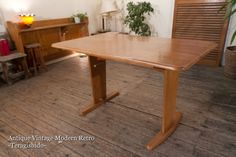Dining Table 124L バタフライダイニングテーブル リビング北欧IKEA収納 インテリア 雑貨 家具 Modern ¥8000yen 〆07月18日