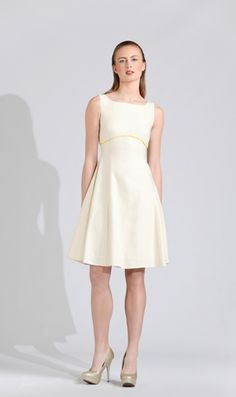 Canvas Linen A-Line Dress – Michael De Paulo