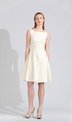 Canvas Linen A-Line Dress – Michael De Paulo