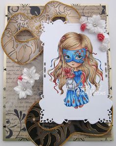 Helen's Crafty Shed: Venetian Girl