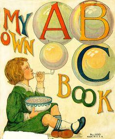 My Own ABC Book - Lois Lenski 1922