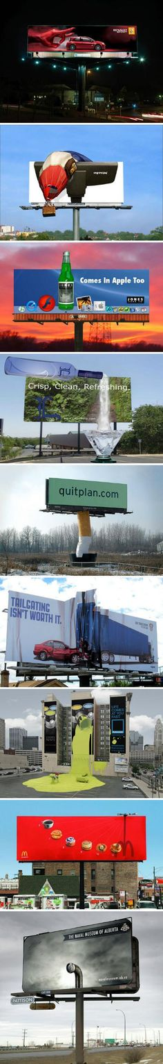 9 creative billboards