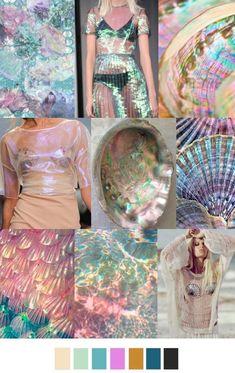 Trends in fashion mood board #GlitterFashion