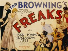 Halloween night: it's all treats (for real, we'll have candy) and no tricks. The great Quay Brothers visit to introduce Tod Browning's legendary cult classic FREAKS.
