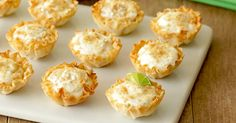Healthy Mini Key Lime Pies Recipe
