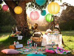 Rad little picnic..