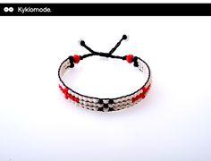 White Beaded Bracelets, Collection, Jewelry, Fashion, Moda, Jewlery, Jewerly, Fashion Styles, Pearl Bracelets