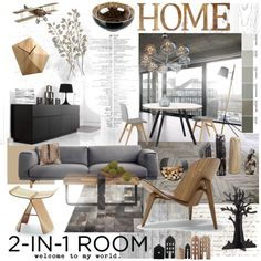 """""""2-in1 room"""" by szaboesz on Polyvore"""