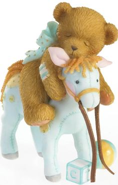 Cherished Teddies: Giddy Up Dreams