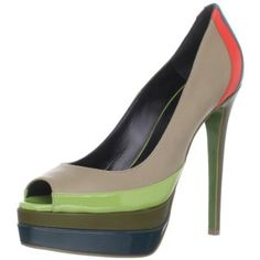 Ruthie Davis Women's Popsicle Peep-Toe Pump - designer shoes, handbags, jewelry, watches, and fashion accessories | endless.com
