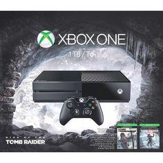 -\*BRAND NEW*/- MICROSOFT - Xbox One 1TB Rise of the Tomb Raider Bundle - Black! #Microsoft