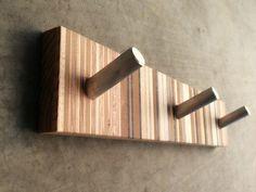 Entry Coat Rack  Eames Era Inspired  by andrewsreclaimed on Etsy
