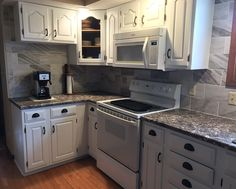 Painted kitchen remodel by Originally Worn