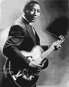 Muddy Waters (1913-1983), father of the Chicago Blues style