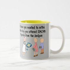 Retired Nurse Story Art Gifts ll Two-Tone Coffee Mug  nurse registered, love a nurse, nurse humor #funnynurse #nursesunited #nursesunite, back to school, aesthetic wallpaper, y2k fashion Funny Nurse Gifts, Funny Nurse Quotes, Nurse Humor, Labor Nurse Gift, Nurse Crafts, Nurse Stories, Nurse Cartoon, Hospice Nurse, Nurse Mugs